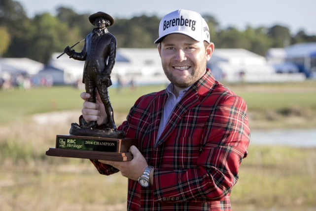 Branden Grace... (PHOTO AP)