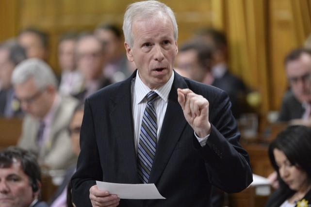 Le ministre des Affaires étrangères, Stéphane Dion... (La Presse Canadienne, Adrian Wyld)