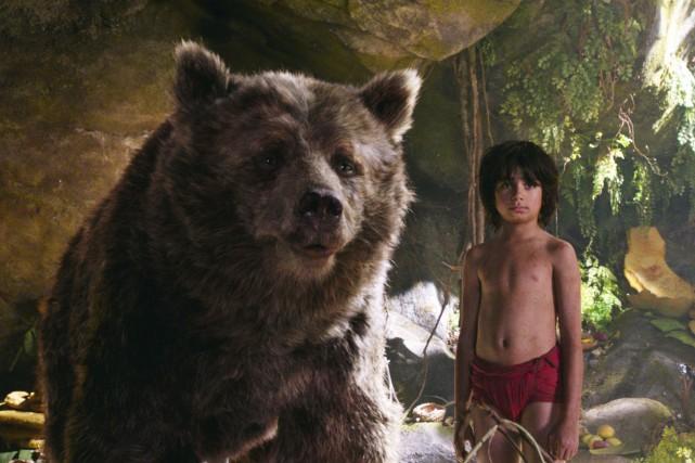 Mowgli et ses amis trônent en tête du... (AP)