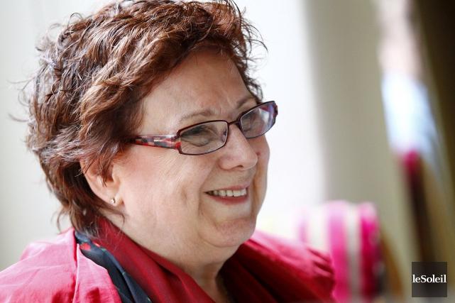Rita Lafontaine en 2011... (Yan Doublet, Archives Le Soleil)