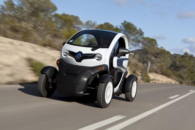 Le Renault Twizy est un véhicule électrique urbain... (fournie par Renault)