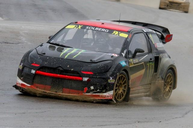 Petter Solberg... (Rallycross RX)