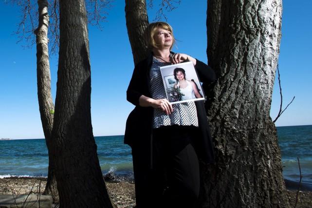 Donna May milite pour une réforme des lois... (La Presse Canadienne)