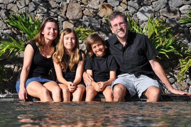 La famille Mawn-Laflamme: Jennifer Mawn et Pascal Laflamme,... (PHOTO TIRÉE DE L'INTERNET)