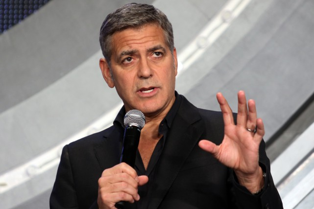 George Clooney est dans le camp d'Hillary Clinton.... (PHOTO ARCHIVES AFP)