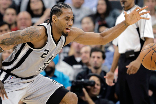 Kawhi Leonard... (Photo Eric Gay, AP)