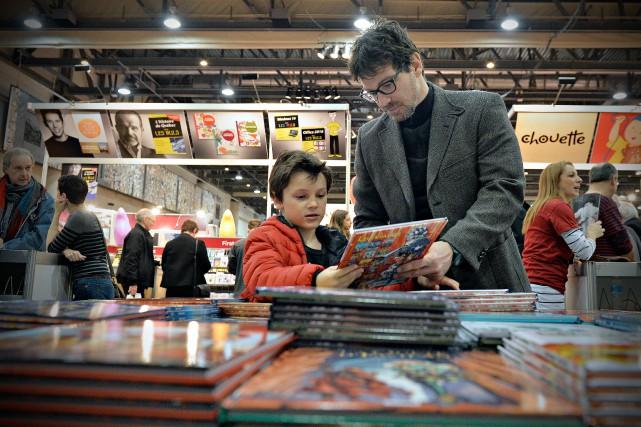 Le Salon du livre de Québec, qui a... (PHOTO PASCAL RATTHÉ, LE SOLEIL)