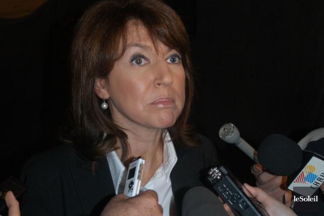 L'ex-vice-première ministre Nathalie Normandeau n'aura pas à être... (Photothèque Le Soleil, collaboration spéciale Gilles Gagné)