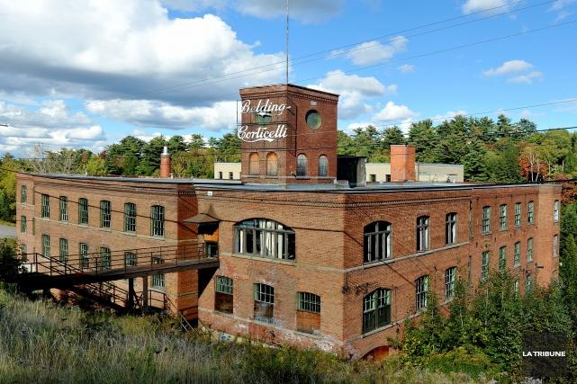 L'ancienne usine Belding Corticelli de Coaticook pourrait bien être convertie... (Archives La Tribune)