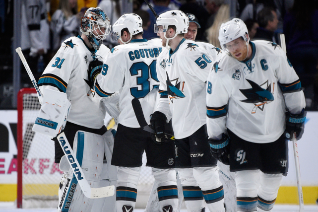 Les Sharks de San Jose ont perdu plus... (Photo Kelvin Kuo, USA Today)