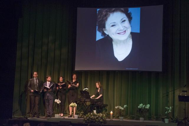Le Théâtre du Rideau vert a accueilli une... (La Presse Canadienne, Paul Chiasson)