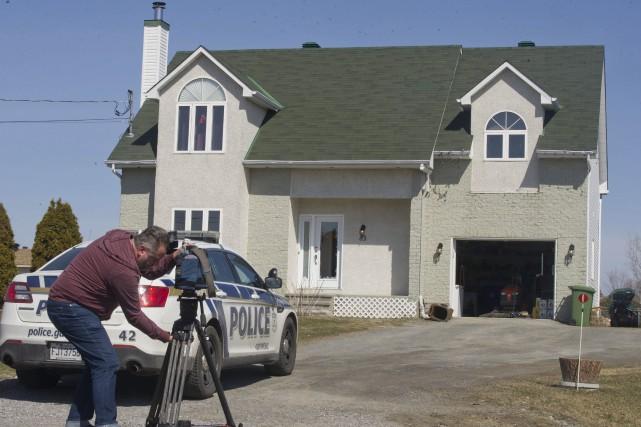 L'agresseur s'est introduit dans une résidence de la... (Martin Roy, Archives LeDroit)