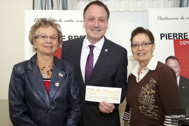 À Saint-Paul-d'Abbotsford, Denise Brodeur-Riendeau et Florence Desrochers, respectivement... (Christophe Boisseau-Dion, La Voix de l'Est)