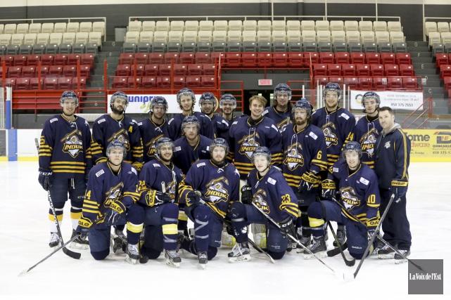 Rarement une équipe a-t-elle mérité autant de respect... (Julie Catudal, archives La Voix de l'Est)