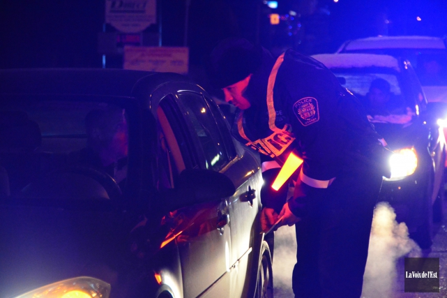 Quatre conducteurs ont été arrêtés en trois à... (archives La Voix de l'Est)