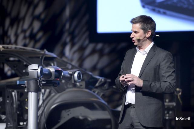 Le vice-président innovation et technologies chez Creaform, Marco... (Le Soleil, Jean-Marie Villeneuve)