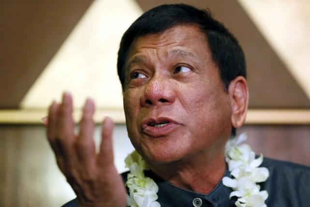 Le favori des sondages à la présidentielle philippine,... (AP, Bullit Marquez)