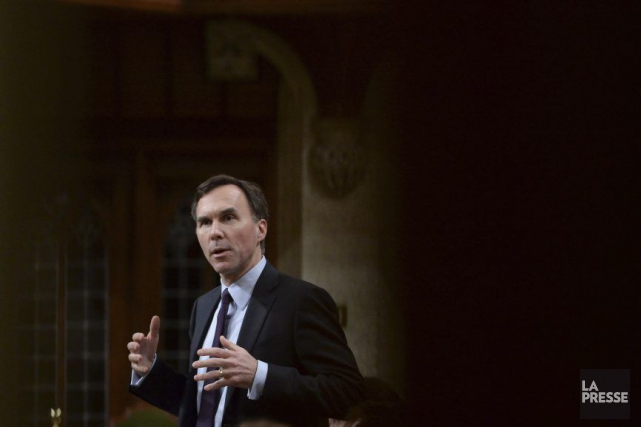 Le ministre des Finances, Bill Morneau, a déposé... (Photo d'archives PC)
