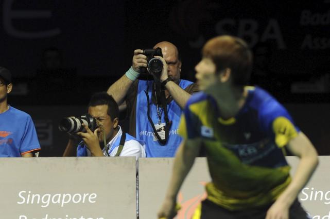 Ayant découvert le badminton sur le tard, Yves... (Courtoisie, Edwin Leung)