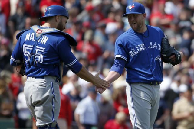 Le gérant des Blue Jays de Toronto, John Gibbons, savait que l'enclos des Red... (AP)