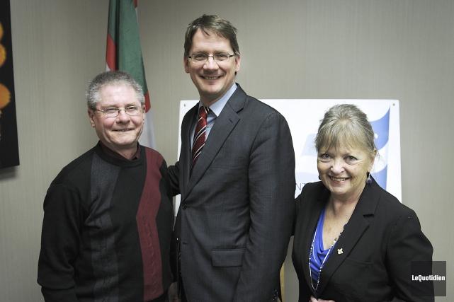 La présidente de la Société nationale des Québécois... (Le Quotidien, Mariane L. St-Gelais)