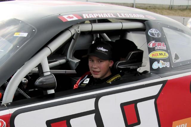 Âgé de 14 ans seulement, Raphaël Lessard fait... (fournie par David Gilliland Racing)