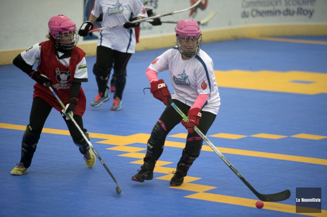 La saison estivale de dekhockey 2016 a pris... (Stéphane Lessard, Le Nouvelliste)