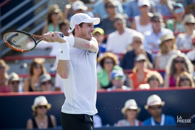 Le no 2 mondial Andy Murray suspecte certains... (Sarah Mongeau-Birkett, La Presse)
