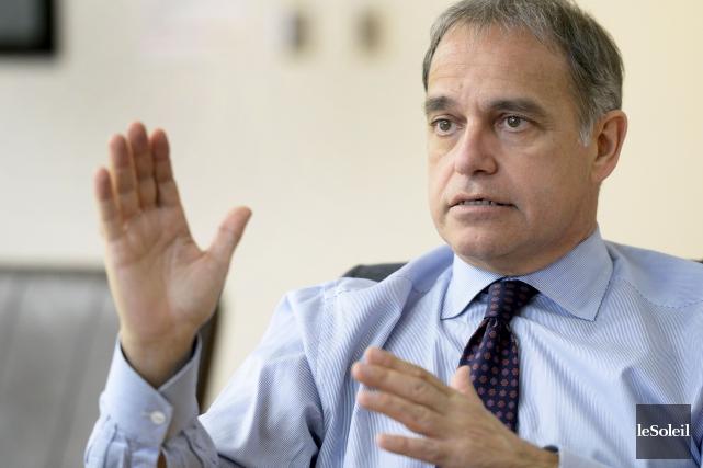 Le président et chef de la direction de... (Le Soleil, Jean-Marie Villeneuve)