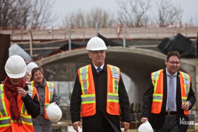 Le ministre des Transports du Québec, Jacques Daoust,... (La Presse)