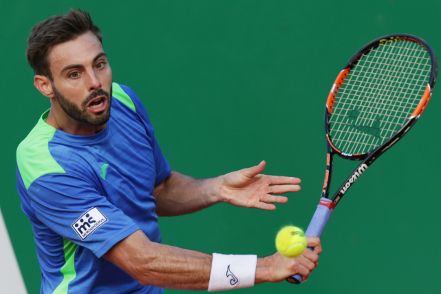 Marcel Granollers... (Photo Jean Christophe Magnenet, AFP)
