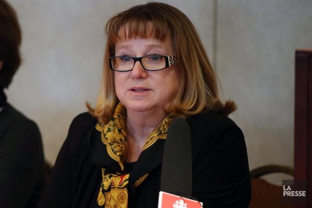 Carole Poirier... (Archives La Presse, Martin Chamberland)