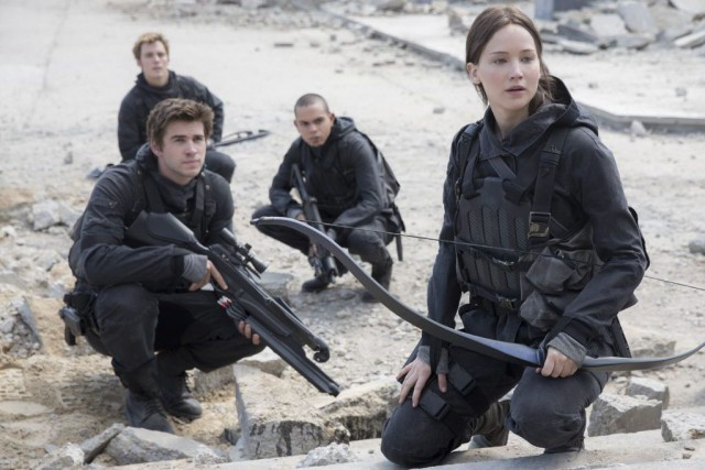The Hunger Games: Mockingjay - Part 2... (PHOTO FOURNIE PAR AP/LIONSGATE)