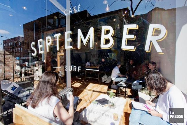 On peut aussi fréquenter le September pour s'imprégner... (PHOTO ALAIN ROBERGE, LA PRESSE)