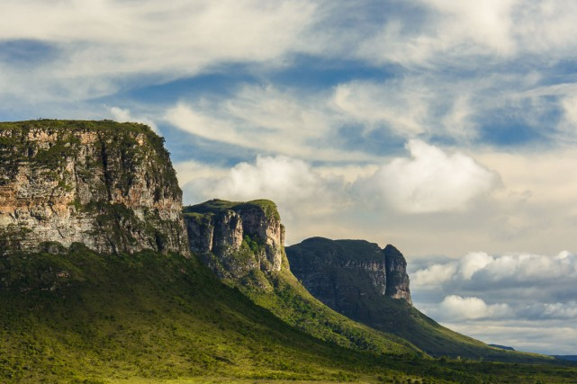 Dans le parc national Chapada Diamantina, les montagnes... (PHOTO THINKSTOCK)