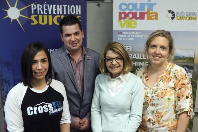 Tatiana Contreras, ambassadrice pour Courir pour la vie,... (Photo Alain Dion)