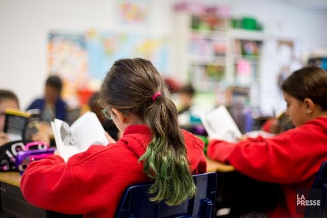 Or, la diversité des écoles primaires et secondaires... (Archives, La Presse)