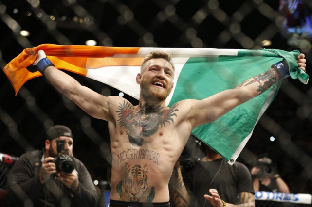 Conor McGregor... (PHOTO ARCHIVES AP)