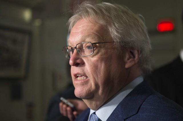 Le ministre de la Santé du Québec, Gaétan... (PHOTO JACQUES BOISSINOT, LA PRESSE CANADIENNE)