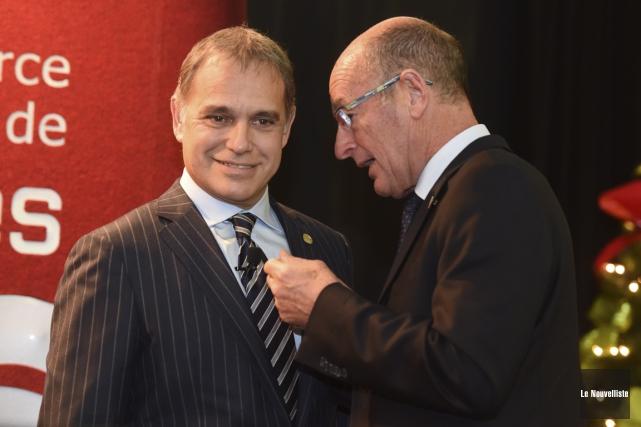 Le président et chef de la direction de... (François Gervais, Le Nouvelliste)