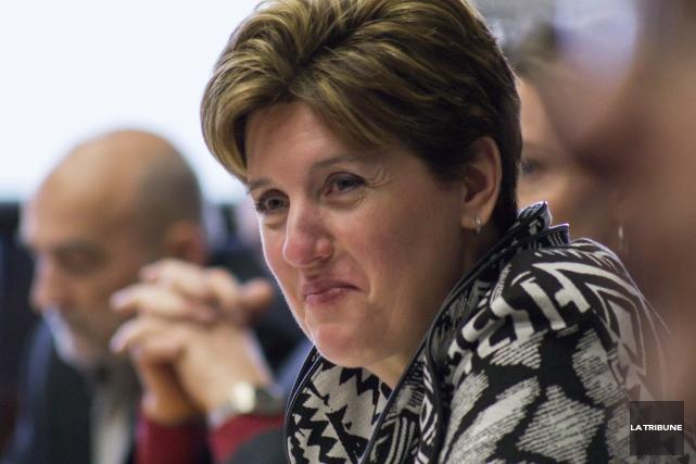 Marie-Claude Bibeau, députée de Compton-Stanstead et ministre du... (Archives, La Tribune)