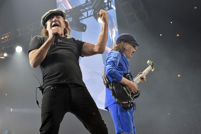 Obligé de quitter la tournée du groupe AC/DC... (AP, Rob Grabowski)