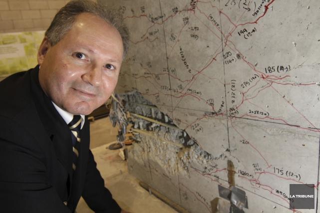 Professeur au département de génie civil de l'Université... (Archives, La Tribune)
