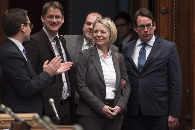 Le chef du Parti québécois, Pierre Karl Péladeau,... (Photo PC)