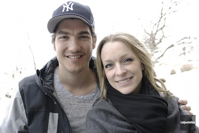 Jason Roy-Léveillée et Annie Villeuve invitent leurs fans... (Photo Le Quotidien, Mariane L. St-Gelais)