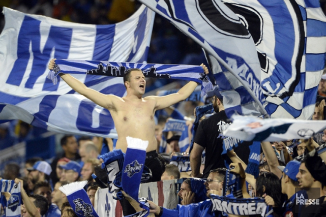 Les spectateurs des rencontres de la Major League Soccer seront... (PHOTO BERNARD BRAULT, LA PRESSE)