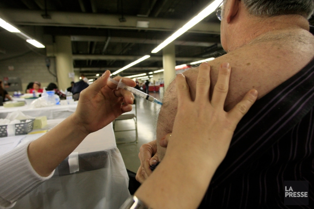 Plus de 2 millions de doses de vaccin... (PHOTO ARCHIVES LA PRESSE)
