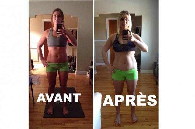 Ces photos avant et après ont beaucoup fait... (Facebook)