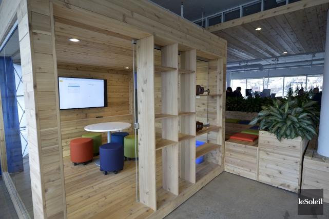 OVH a inauguré ses nouveaux locaux dans Saint-Roch,... (Le Soleil, Yan Doublet)