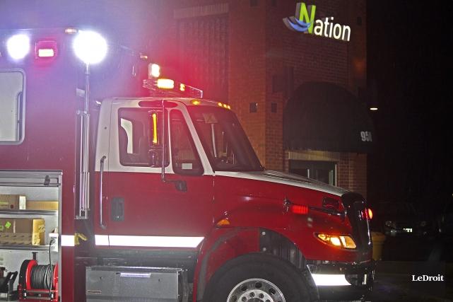 En 2015, 46% des interventions du service d'incendie... (Martin Brunette, LeDroit)